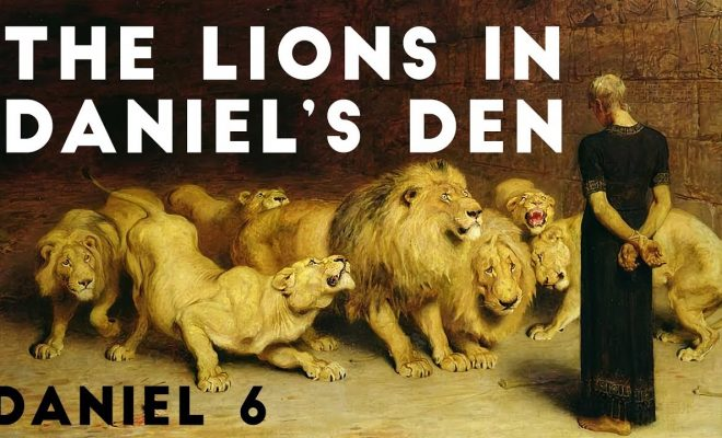 The-Lions-in-Daniels-Den-Daniel-6